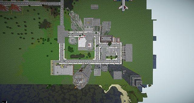зомби карта майнкрафт